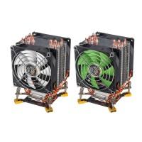 Import - 3 Pin 90cm Double Cooling Fan 6 Heat Pipes Cooler Heatsink