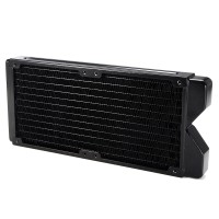 Import - G1/4 240mm 12 Pipes Copper Water Cooling Radiator Computer