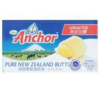 Anchor Unsalted Butter 227gr / unsalted butter / khusus grab gojek