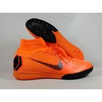Sepatu Futsal Mercurial Superfly X VI ELite Total Orange Replika Impor