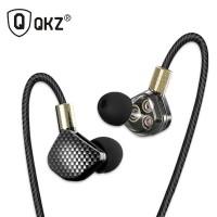 QKZ HiFi Earphone 6 Loudpseaker Dynamic Driver with Mic - QKZ-KD6
