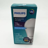 Lampu Bohlam Bola LED Bulb rechargeable PHILIPS 7 W