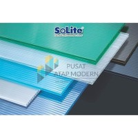 Solite 4mm Atap Polycarbonate - 1/2 Roll