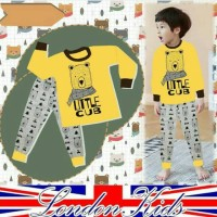 baju anak cowok london kids 1 bulan - 4 tahun