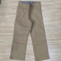 Celana chino panjang anak laki branded original Wrangler khaki ori boy