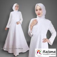 Gamis Putih Cantik Model A / Gamis Putih Untuk Umroh