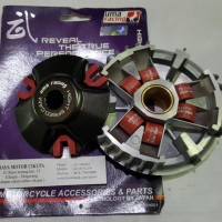 Uma Racing Pulley Assy Mio Sporty. Nouvo Roller 16 X 13Mm
