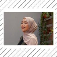 Jilbab Pashmina Warna Coklat Susu Cantik