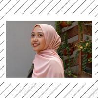 Jilbab Pashmina Warna Peach Cantik