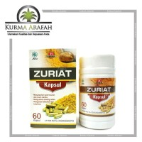 Zuriat Promil Herbal 21 Original 60 Kapsul