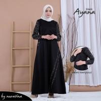 baju menyusui nuratina ayana black