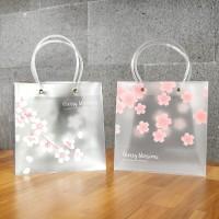 Cherry Blossoms Fancy Plastic Bag / Tas Serbaguna / Tas Lucu