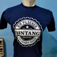 T-shirts/Baju/Kaos Bir Pilsener BINTANG INDONESIA