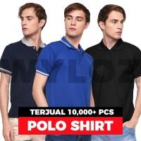 Kaos Kerah Polo Shirt Baju Pria Polos Wangki Lacoste Keren Murah kaosk