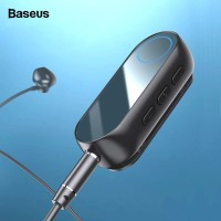 BASEUS BA02 Wireless Bluetooth Earphone Receiver Adapter Aux 3.5mm