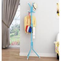 Multifunction Stand Hanger Portable Standing Hanger Irit Tempat Modern
