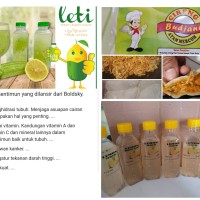 lemon sereh / madu / lemon timun