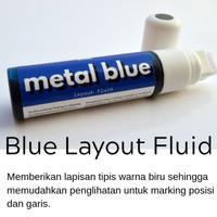Dypro - Metal Blue Layout Fluid |Steel Blue Layout Fluid - not Dykem