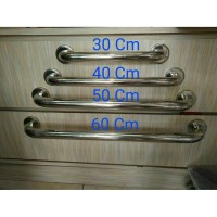 Pegangan Closet WC Duduk Kamar Mandi Handle Grib 40 Cm Stainlesa REZ4