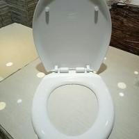 Cover Penutup Closet Toilet WC Duduk bahan tebal Soft Closing DHO17