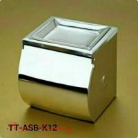 tempat tissue gulung asbak closet toilet wc duduk kamar mandi ROY13