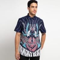 [Arthesian] Kemeja Batik Pria - Aristade Batik Semi Dobby