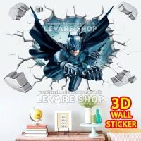 3D Wall Sticker - Stiker Dekorasi Dinding Tembok Superhero Batman