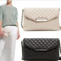Tas wanita cewek branded import quilted selempang fashion chain sling