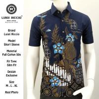 Baju Batik Pria Premium Full Katun 50s | Luigi Riccio