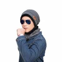 TOPI KUPLUK & SYAL MUSIM DINGIN / WINTER unisex pria / wanita