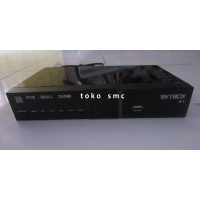 Skybox h-1 Set Top Box DVB-T2 tv digital (kabel loop + kabel rca)