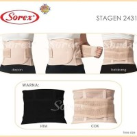 SOREX Stagen Pelangsing Perut 2431 Stagen Pasca Melahirkan