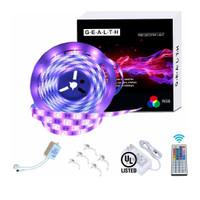 G · E · A · L · T · H LED Strip Lights, Waterproof 16.4ft Color