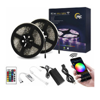 RC WiFi Wireless LED Strip Lights, Color Changing