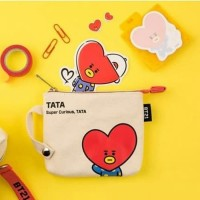 Dompet canvas premium BT21 animation / small purse
