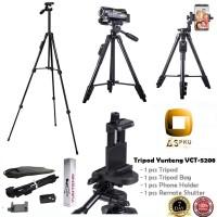 Tripod / Tripot Yunteng VCT-5208 (Tripod + Remote Shutter)