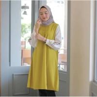 Baju Muslim Wanita / Martha Tunik Bordir / Tunik Muslim