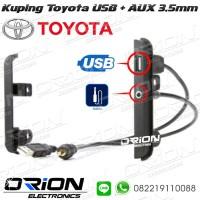 Frame Kuping Toyota USB AUX Toyota Ear Bracket USB AUX