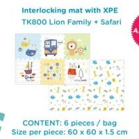Interlocking Mat Yofi Playmat Bayi Puzzle Lantai Karpet Evamat Kado