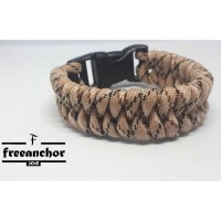 GELANG PARACORD PARACORD BRACELET SNAKE KNOT WITH LOCK SYSTEM BUCKEL02