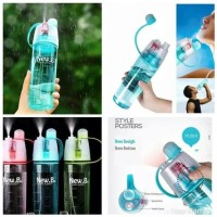 Botol spray New B Sporty 600ml Sprayer Bottle BPA Free Travel Sepeda
