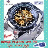 Jam tangan otomatis tanpa batrai Forsining