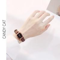 Watchbrands Jam tangan wanita kecil yang stylish arloji mini Jam