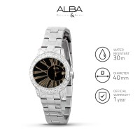 Jam Tangan Wanita Alba Fashion Quartz Stainless Steel Axt317 Original