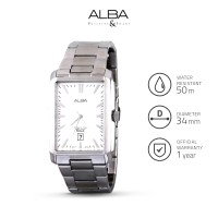 Jam Tangan Pria Alba Analog Stainless Steel As9711 Original
