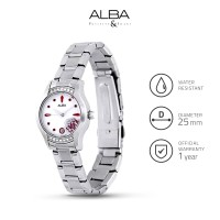 Jam Tangan Wanita Alba Fashion Quartz Stainless Steel Axt367 Original