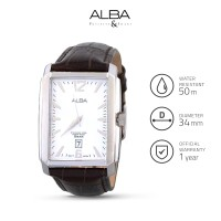 Jam Tangan Pria Alba Analog Leather As9719 Original
