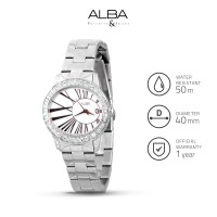 Jam Tangan Wanita Alba Fashion Quartz Stainless Steel Axt313 Original