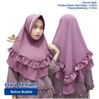 hijab jilbab instan - Layer Clara 2 OFFICIAL ALI Renda Hijab List Remp