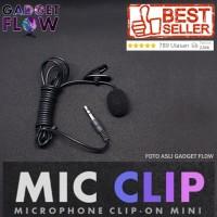 Microphone Mic Clip On Mic 3 5Mm For Smartphone Pc Terlaris